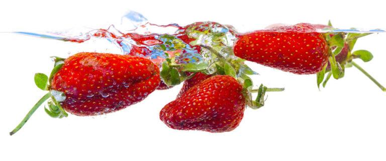 Wasser Erdbeeren Lebensmittelaromen.eu