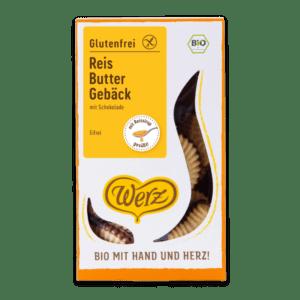 Werz Reis-Butter-Gebäck mit Schoko Lebensmittelaromen.eu
