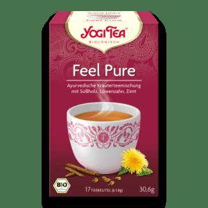 Ayurveda Yogi Tea Feel Pure