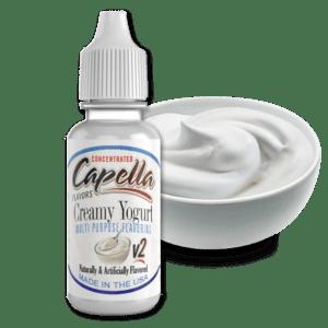Capella Flavors Creamy Yoghurt V2 Lebensmittelaromen.eu