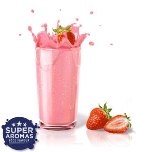 Super Aromas Milk Strawberry Lebensmittelaromen.eu