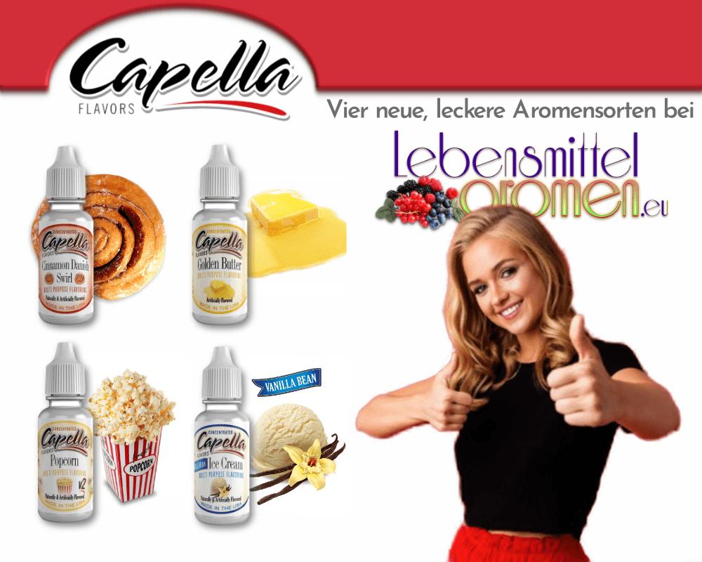 Capella - Neue Aromensorten